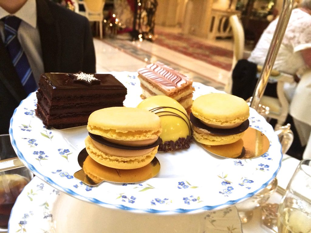 Hightea at the ritz london