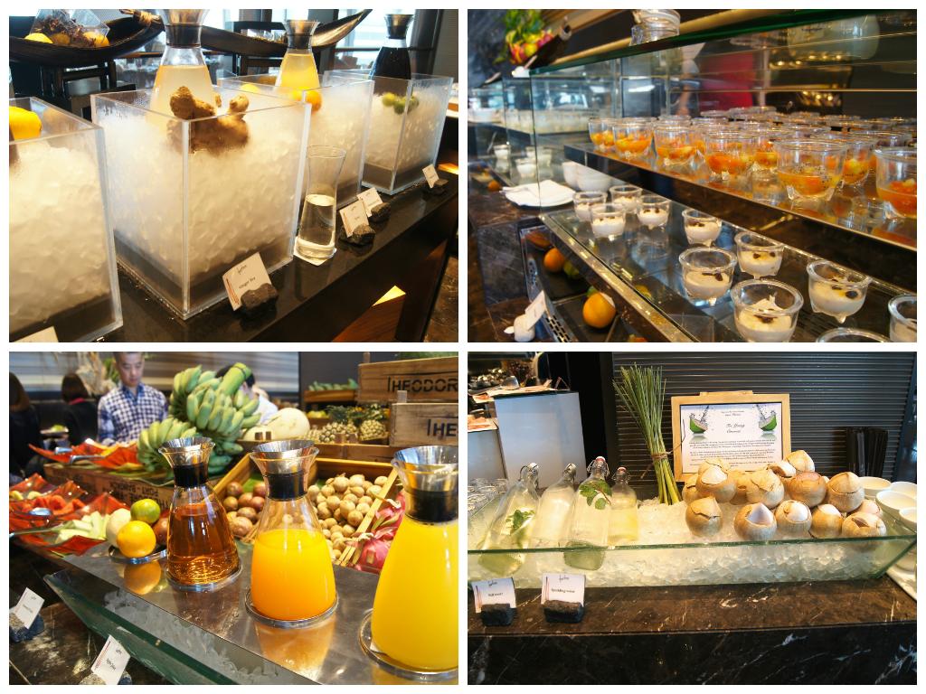 Okura Prestige Bangkok breakfast