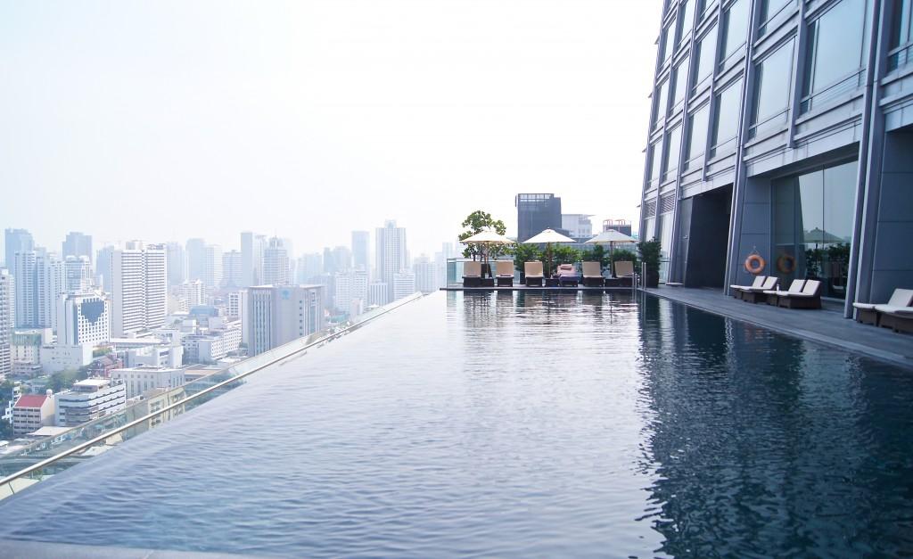 Okura Prestige Bangkok pool