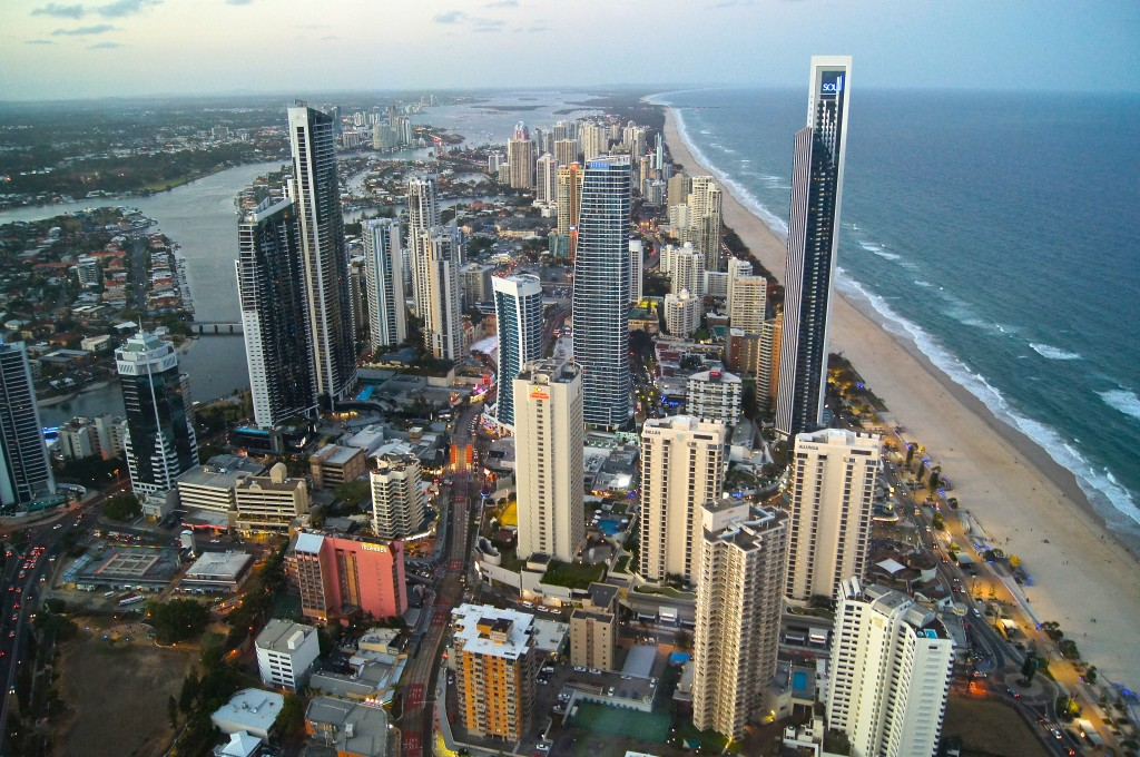 Skypoint view Gold Coast