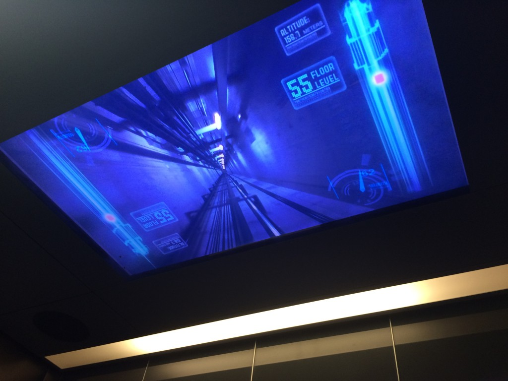 Skypoint elevator Q1 Gold Coast