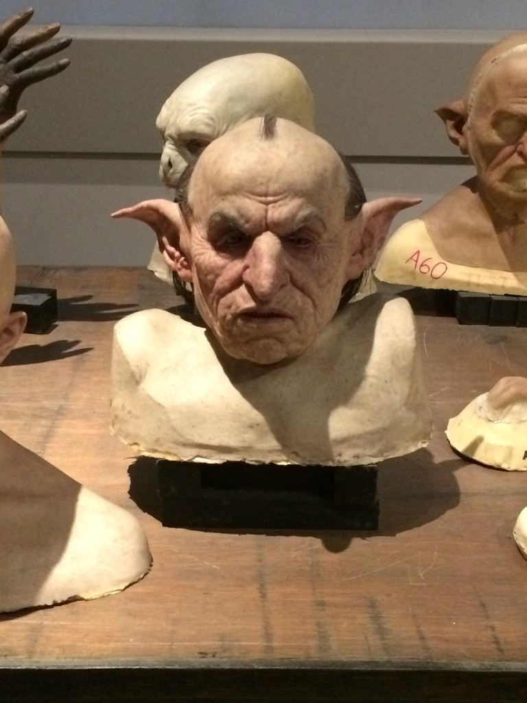 The creature shop Harry Potter tour - Copyright