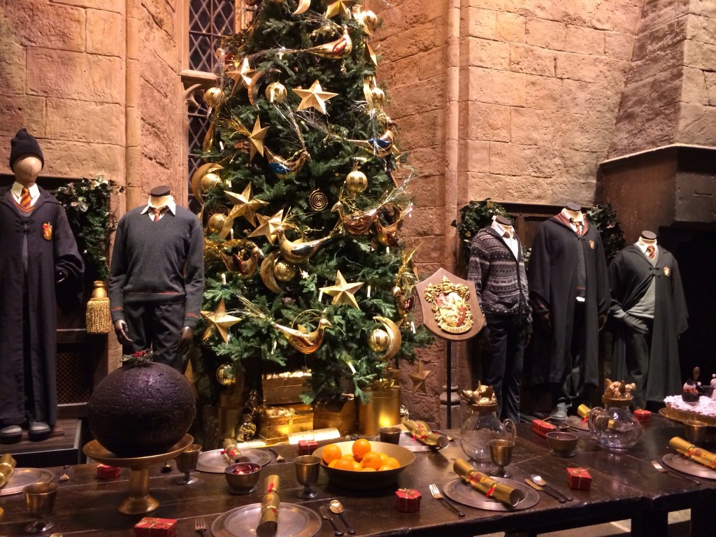 The great hall Harry Potter Warner Bros Studios - Copyright