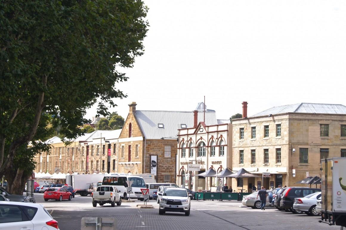 Salamanca Place Hobart - Copyright