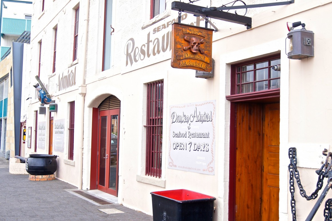 One of the oldest pubs in Hobart - Copyright