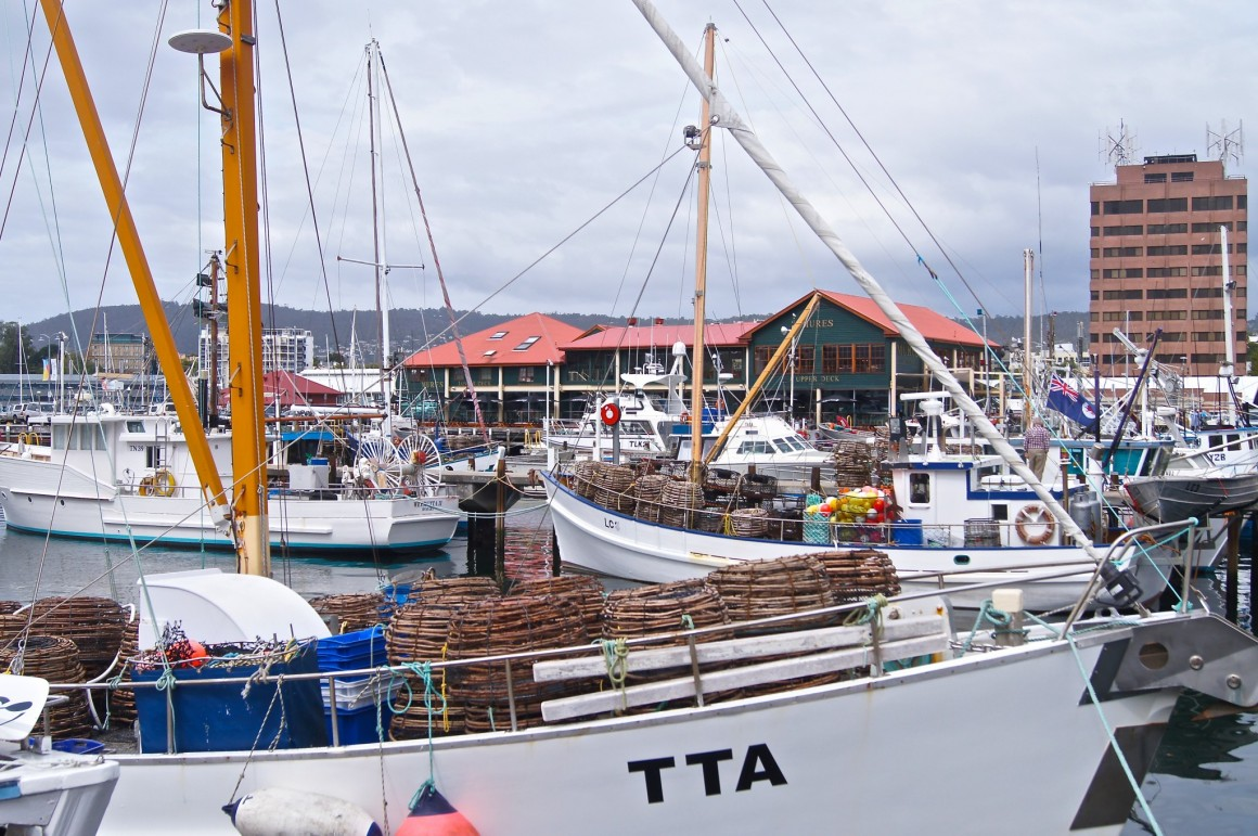 Hobart Waterfront - Copyright