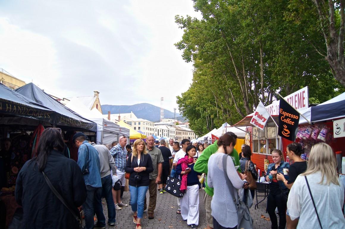Salamanca Market Hobart - Copyright