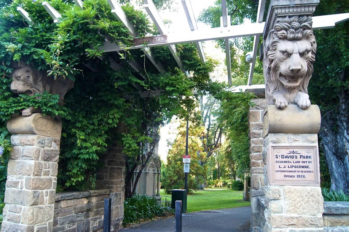 St Davids Park Hobart - Copyright