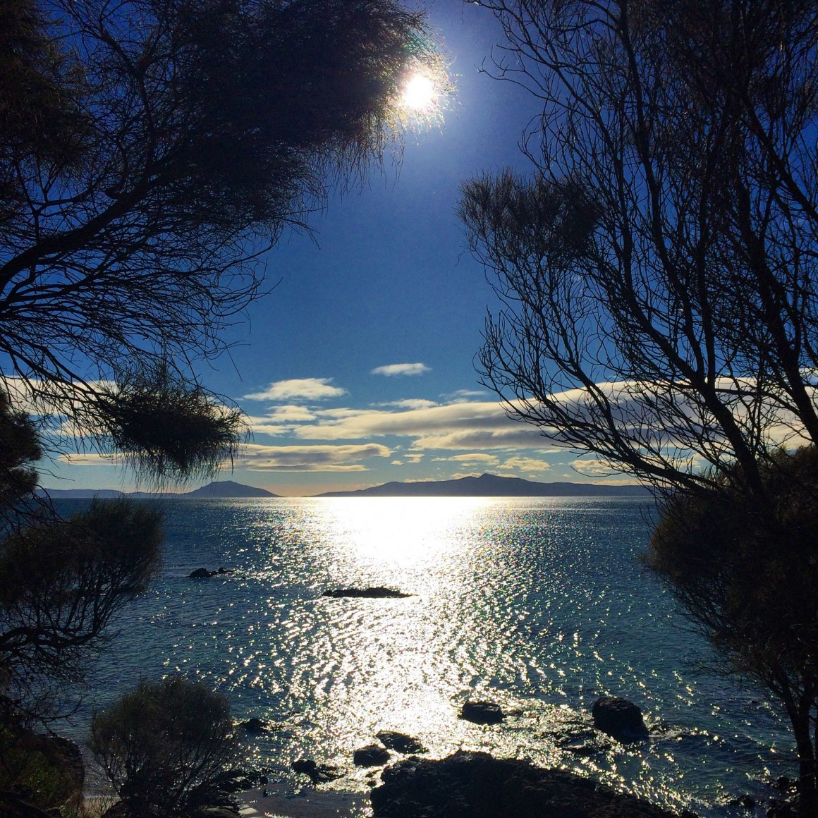 View to Freycinet National Park - Copyright
