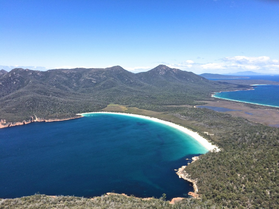 Wineglass Bay Freycinet National Park Tasmania - Copyright