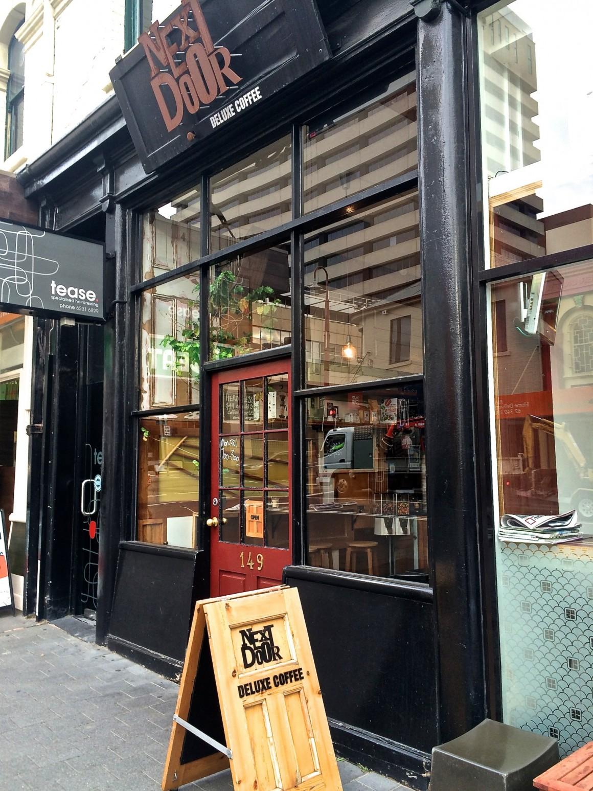 Next Door Deluxe Coffee Hobart - Copyright