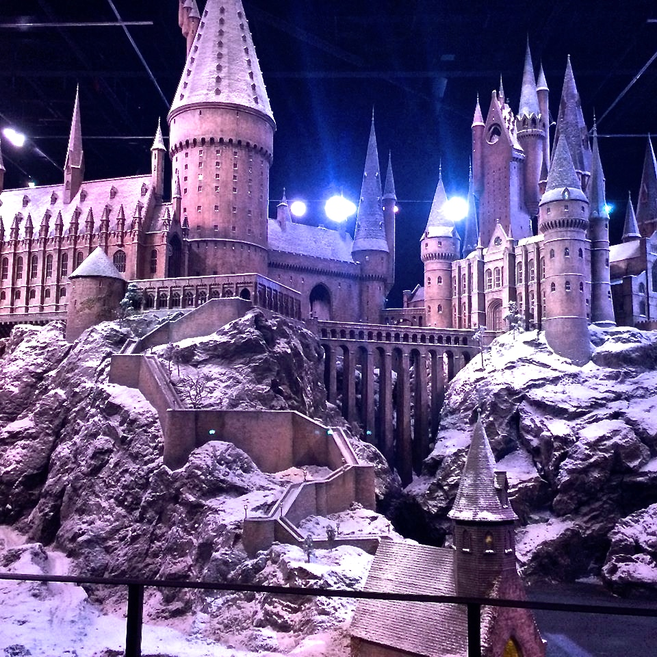 Model of Hogwarts Harry Potter Studio Tour - Copyright