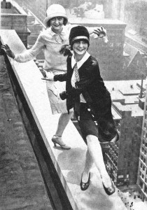 1928-flappers-on-skyscraper