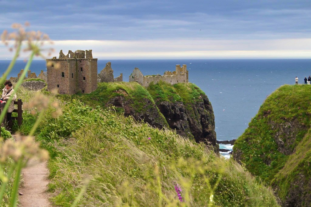 Dunnottar Castle Scotland - Copyright