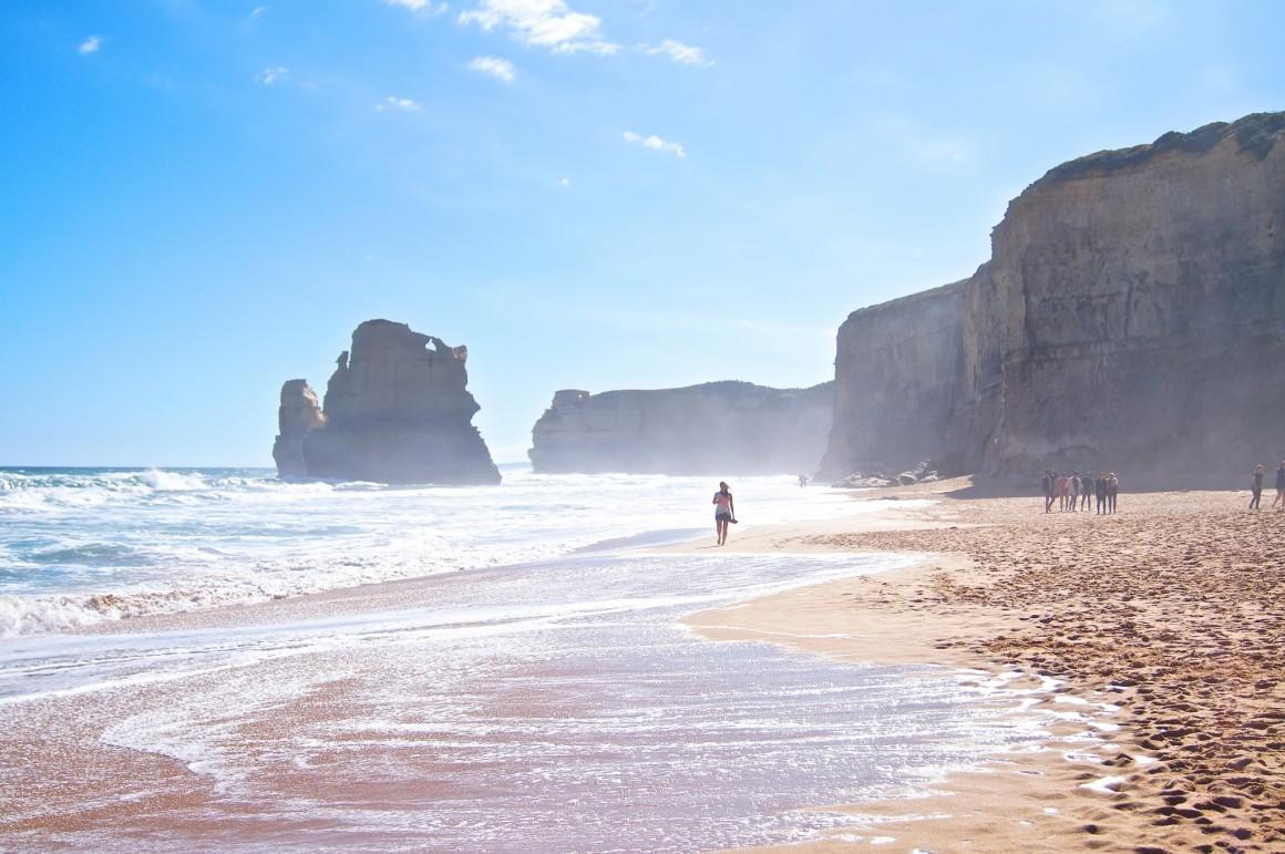 Gibson Steps Beach 12 Apostles Australia - Copyright