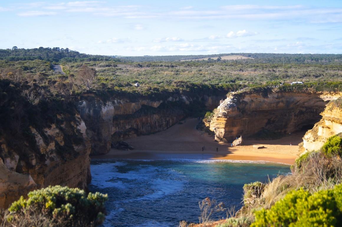 Island Archway beach 12 Apostles Australia - Copyright
