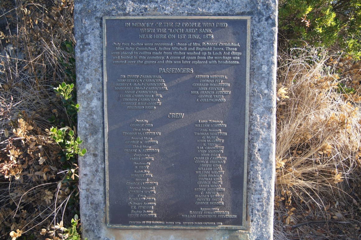 Shipwreck graveyard 12 Apostles Australia - Copyright
