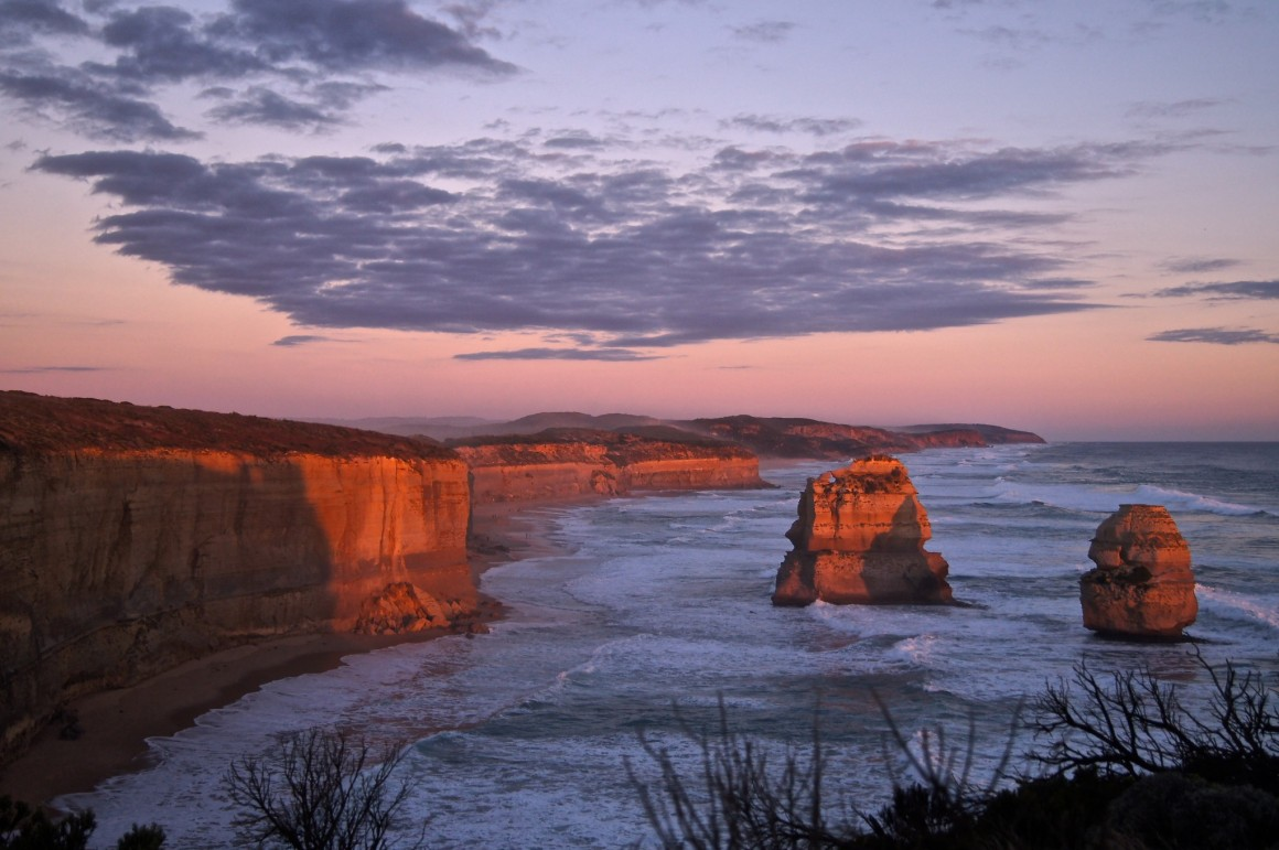 The 12 Apostles Port Campbell Australia - Copyright