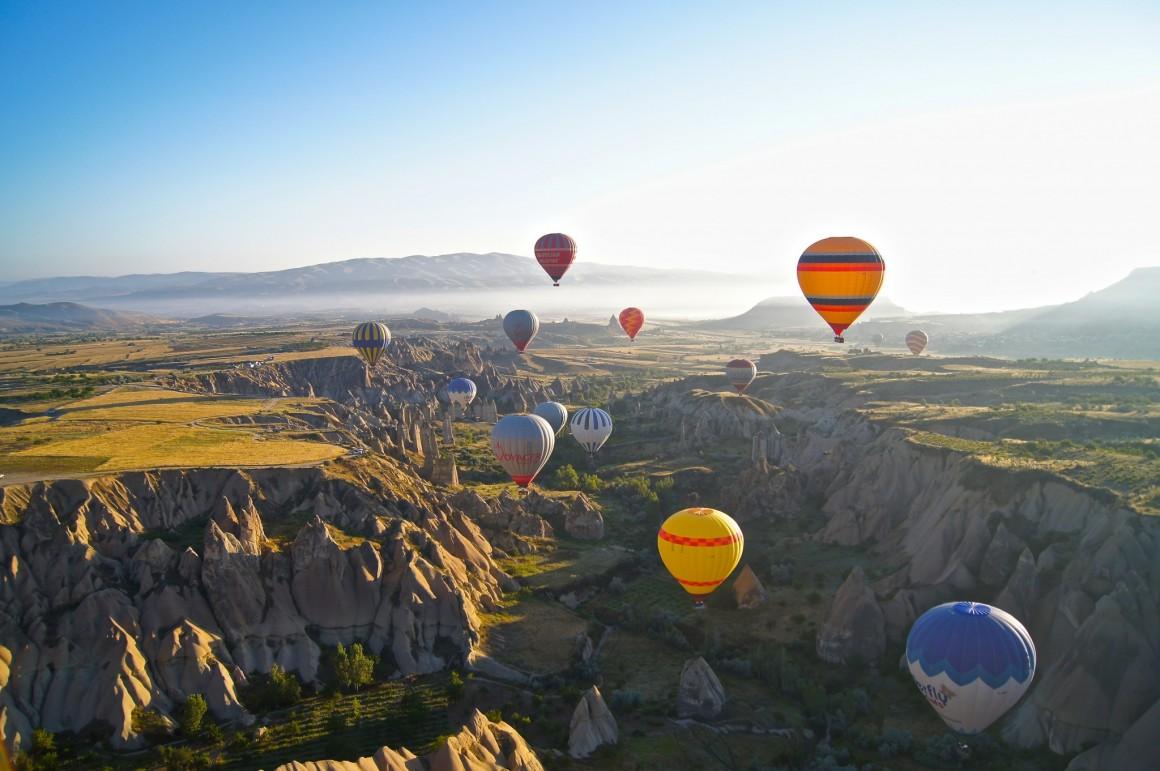 Taking A Hot Air Balloon Ride In Turkey Travel Drink Dine