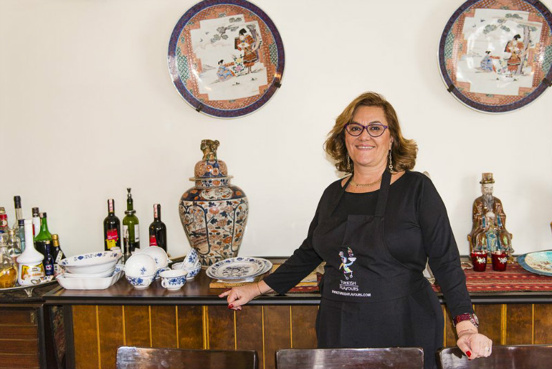 Selin Rozanes of Turkish Flavours