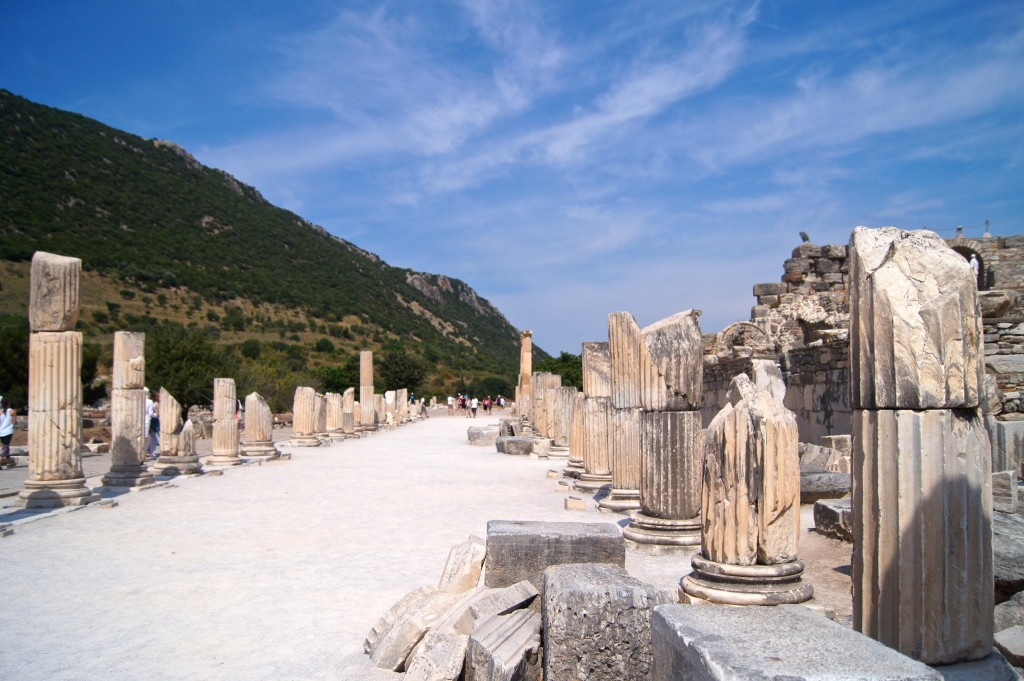 The-ancient-city-of-Ephesus-copyright