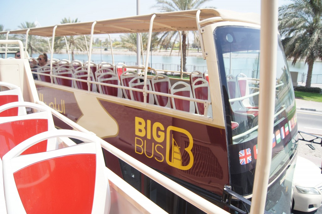 Big Bus Company visiting Dubai copyright
