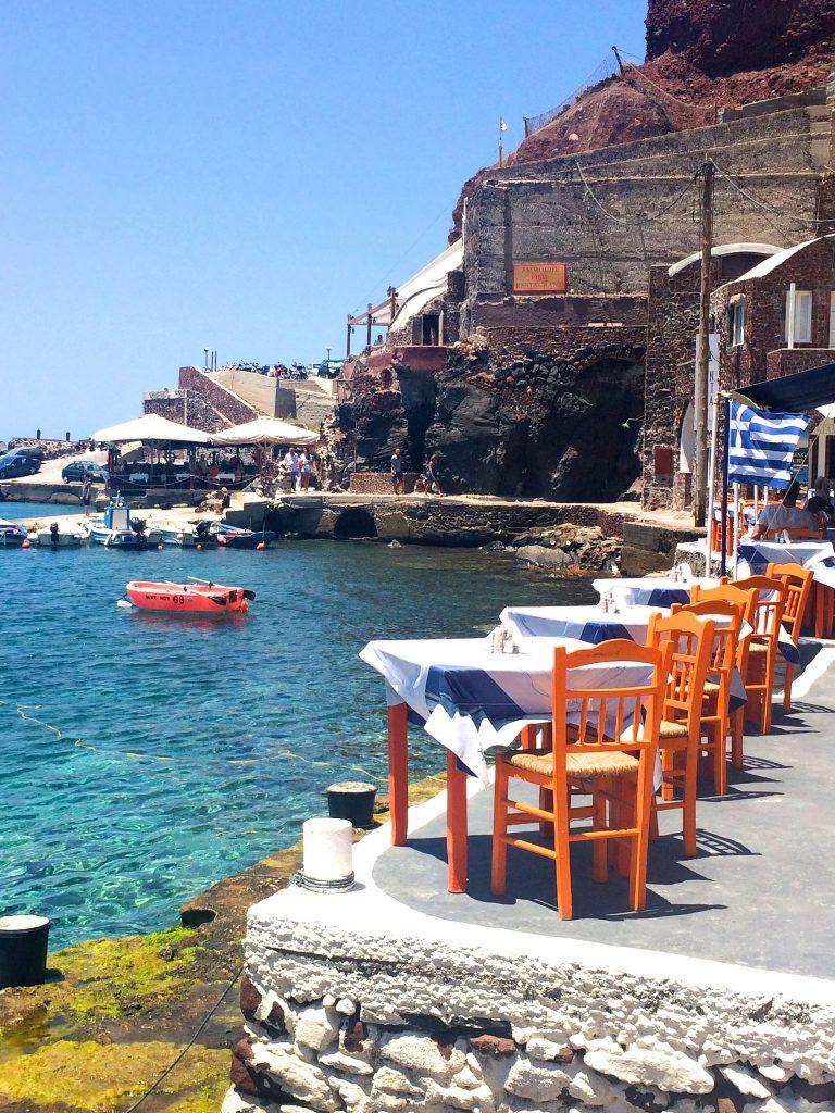 Amoudi Bay Santorini ©