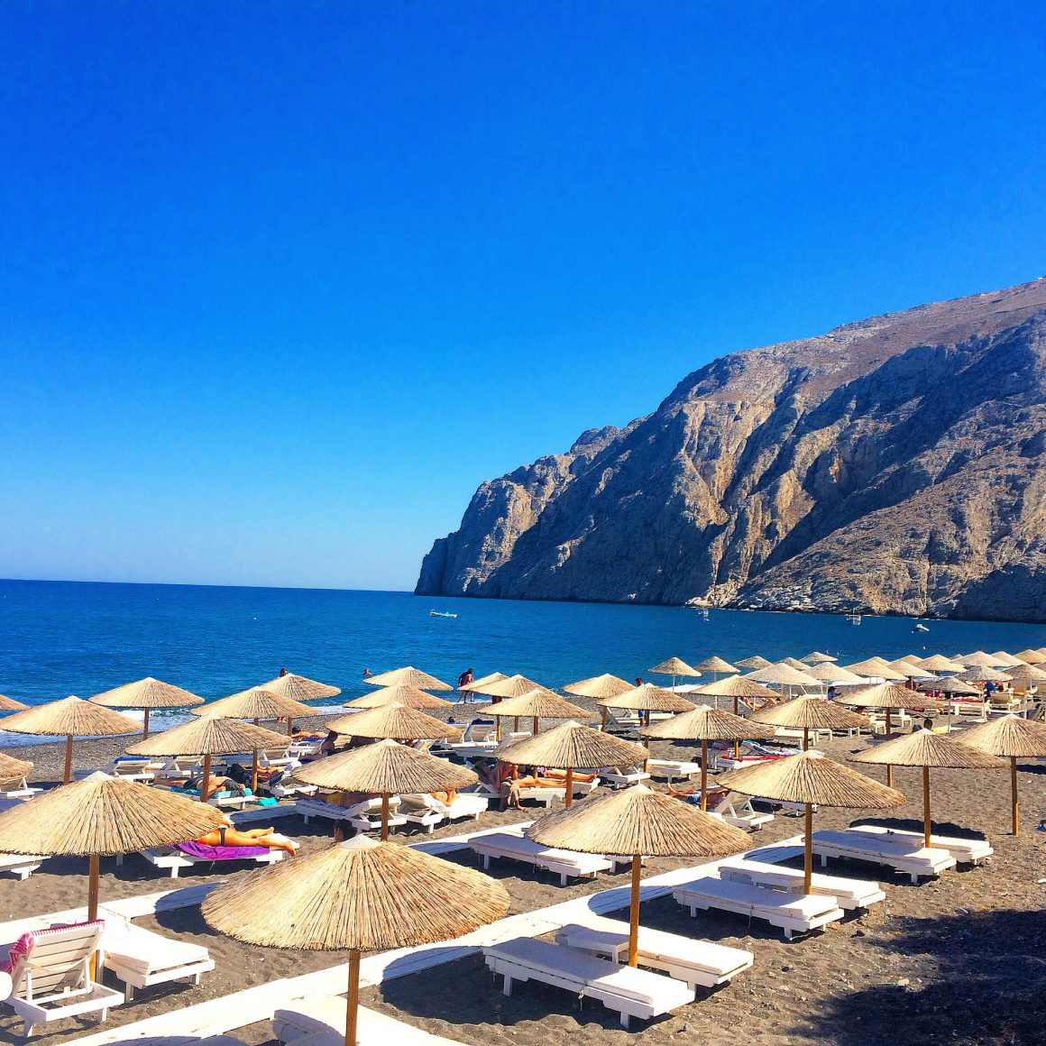 Hotels In Kamari Beach Santorini Greece