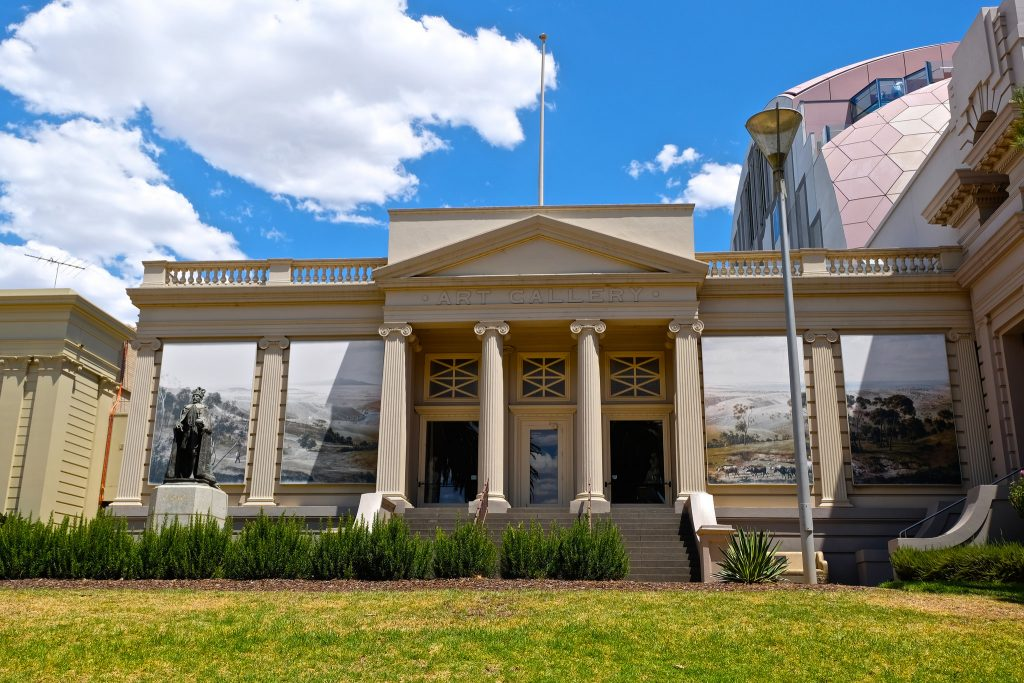 Geelong Art Gallery by Wendy Kerby