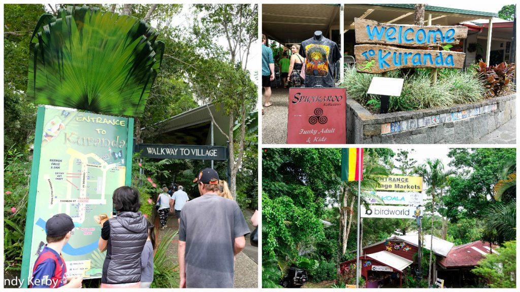 Kuranda+Heritage+scenic+railway+train+skyrail+rainforest+Queensland+Walk+Village+Kurandavillage