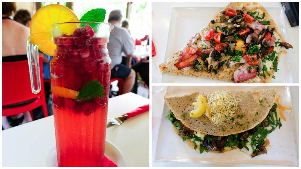 Kuranda+Heritage+scenic+railway+train+rainforest+Queensland+Restaurants+Food+Cafe+Crepes+Sangria