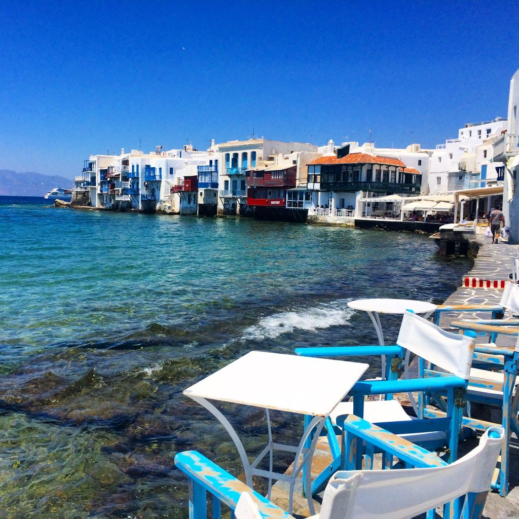 instagramable places in Mykonos Little Venice
