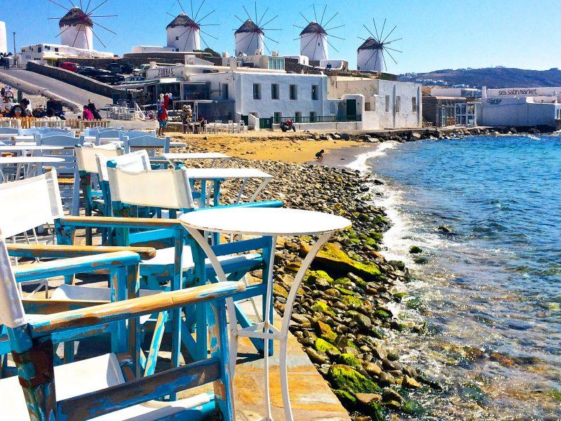Little Venice Mykonos Greek Islands