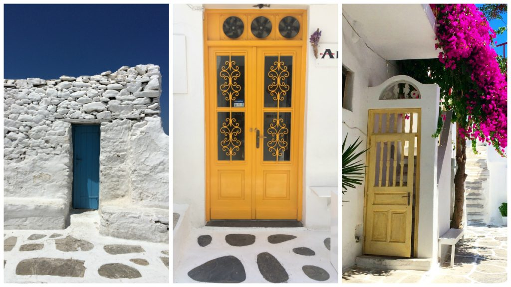instagramable places in Mykonos