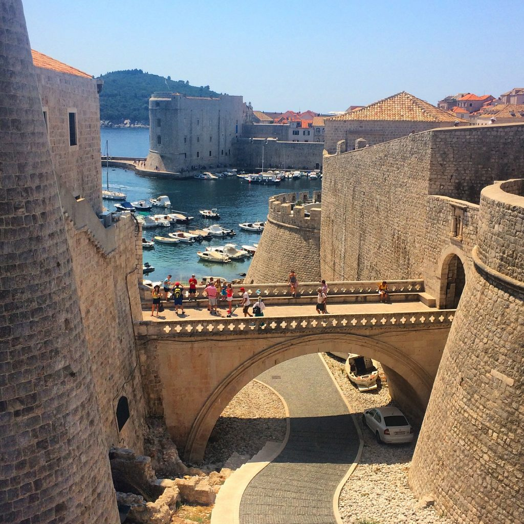 Dubrovnik Croatia City Walls ©
