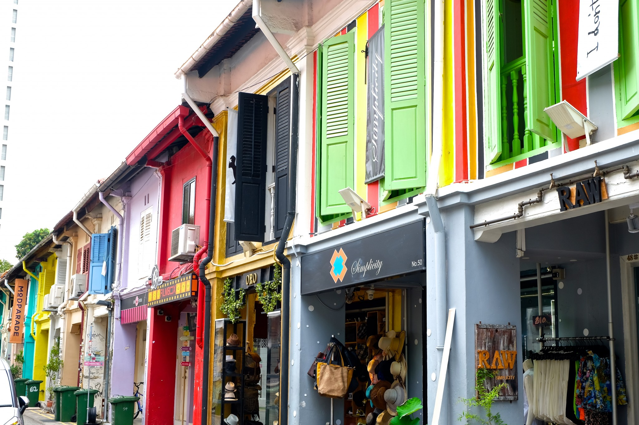 A Trip Down Haji Lane In Singapore Travel Drink Dine