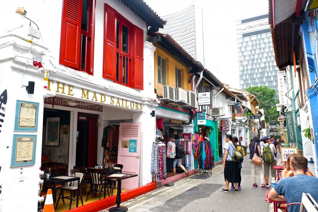 A Trip down Haji Lane in Singapore