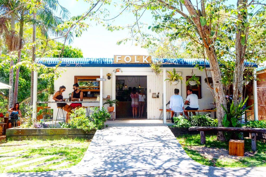 Must Visit Cafes in Byron Bay - Folk ©