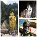 Batu Caves is a quick train ride away from the centre of Kuala Lumpur and a must visit when in Malaysia. Read more here.